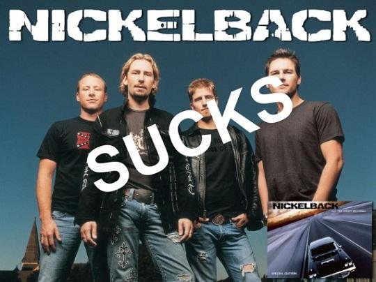 Nickelback sucks