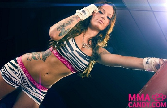 MMA Candy Zebra