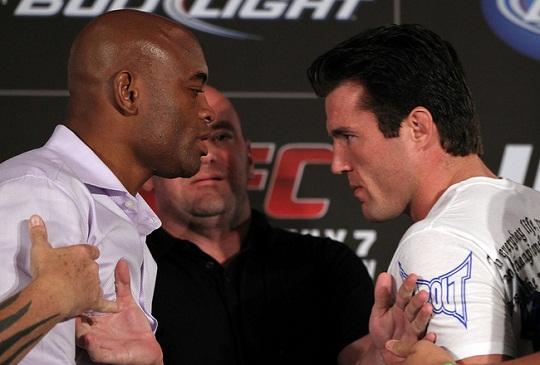 Anderson Silva vs Chael Sonnen 2