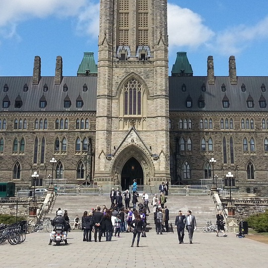 This is the entrance to canadian democracy itself. It is guarded by two ancient stone protectors