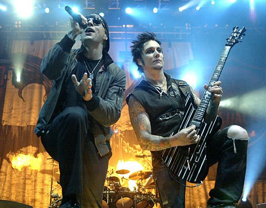 Avenged Sevenfold live on stage