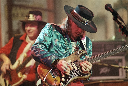 Stevie Ray Vaughan 1986