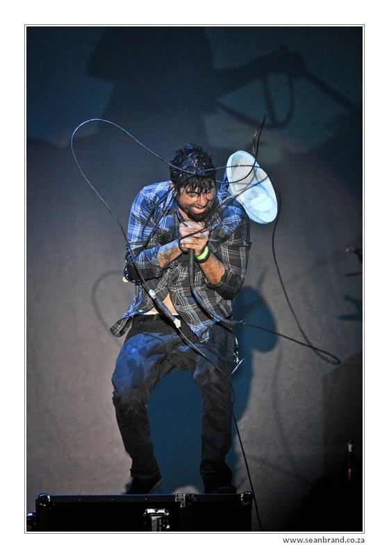 Chino Moreno van Deftones foto deur Sean Brand