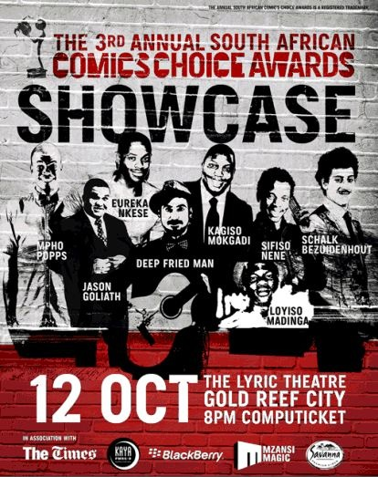 Comics Choice Awards Showcase