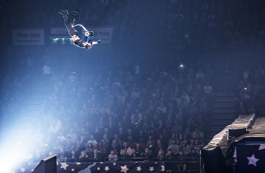 Nitro Circus Live in Birmingham, England on 5th December 2012