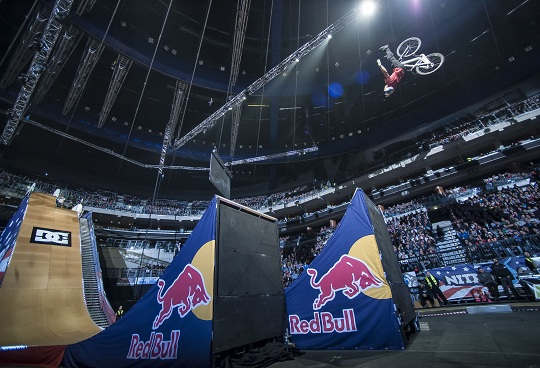 Nitro Circus Live in Prague, Czech Republic on 26th Novemeber 2012
