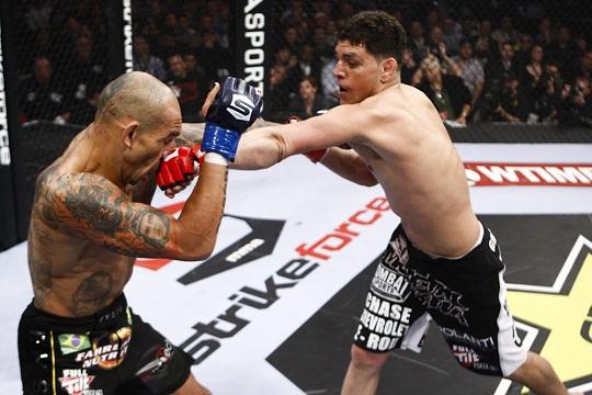 Nick Diaz vs Evangelista Santos