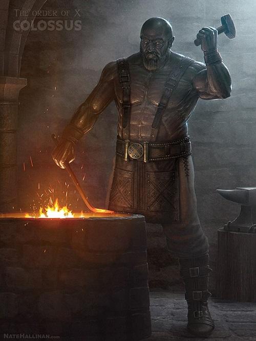 Medieval X-Men Colossus
