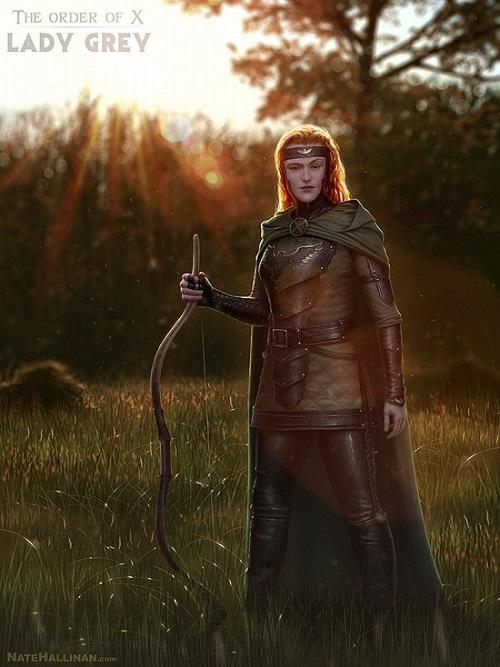 Medieval X-Men Lady Grey