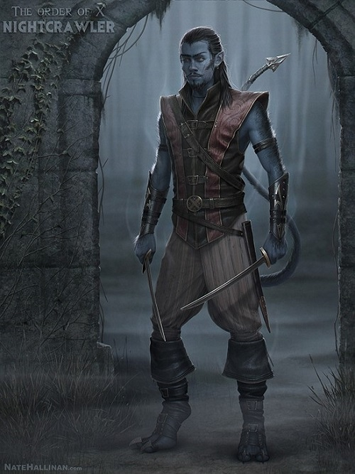 Medieval X-Men Night Crawler