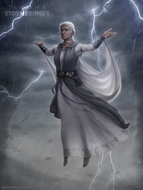 Medieval X-Men Storm
