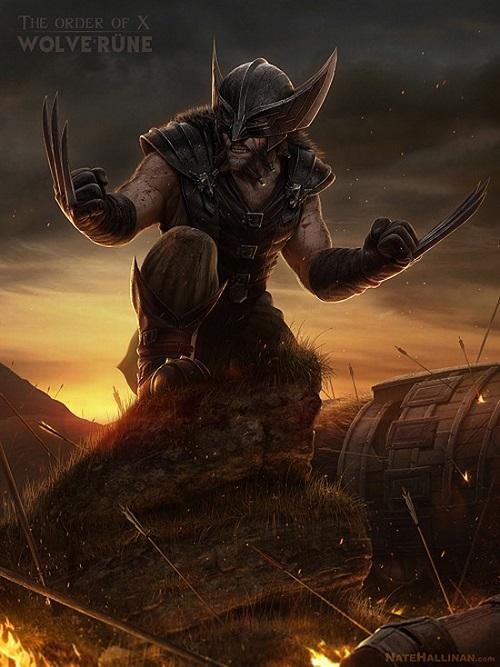 Medieval X-Men Wolverine