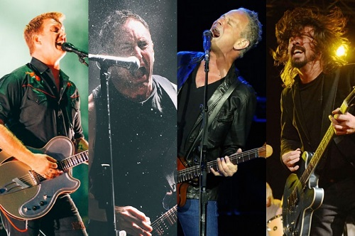 Nine Inch Nails, QOTSA, Dave Grohl and Lindsey Buckingham
