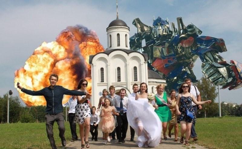 Crazy Russsian Wedding Pics (20)
