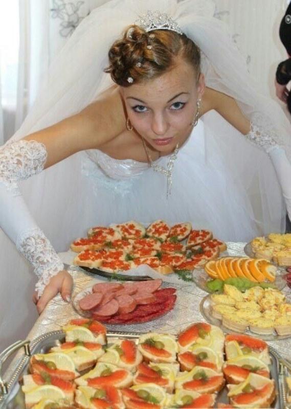 Crazy Russsian Wedding Pics