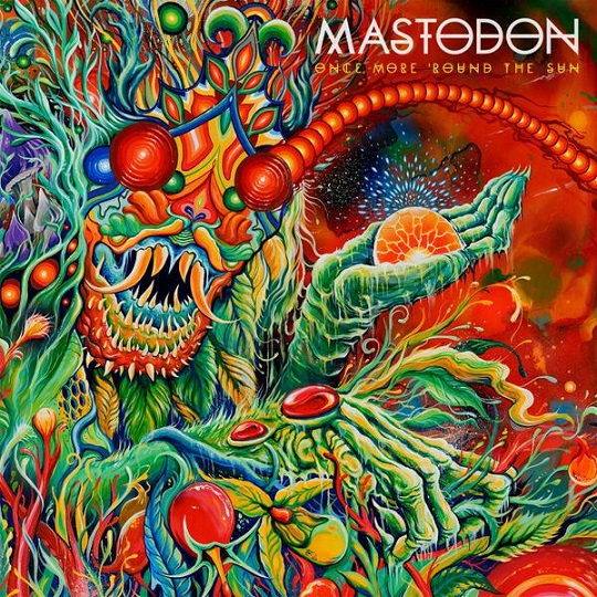 Mastodon Once More Round the Sun Album Cover
