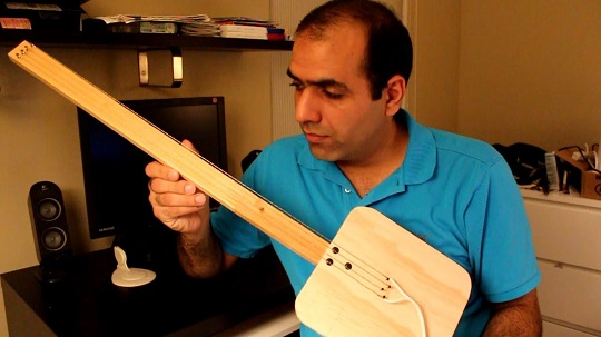 How NOT to make an Electric guitar