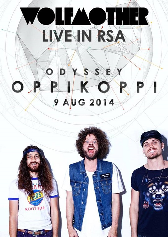 Wolfmother Oppikoppi South Africa 2014