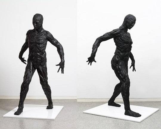 Yong Ho Ji tyre sculptures (9)
