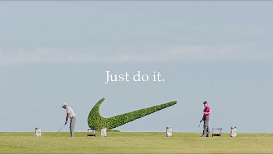 Tiger Wood Rory Mcilroy Nike ad