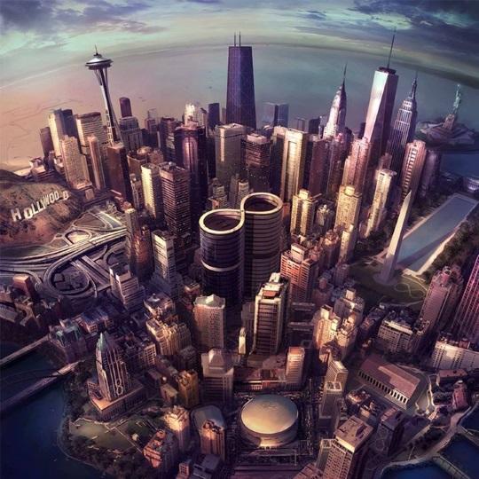 Foo Fighters new album Sonic Highways cover