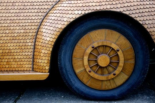 Hout Volkswagen Beetle (3)