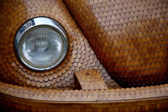 Hout Volkswagen Beetle (5)