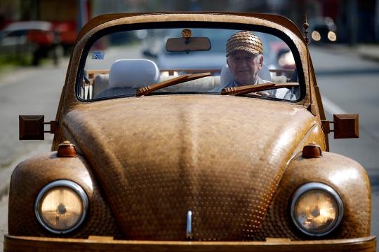 Hout Volkswagen Beetle (6)