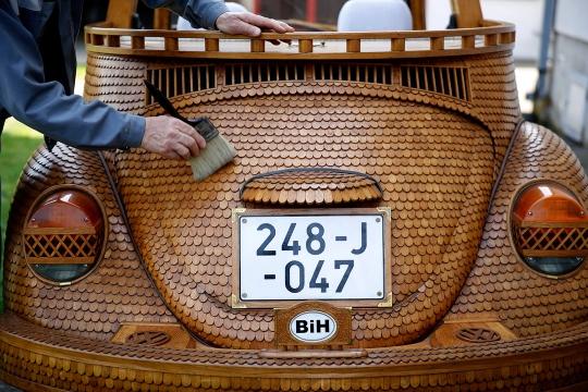 Hout Volkswagen Beetle
