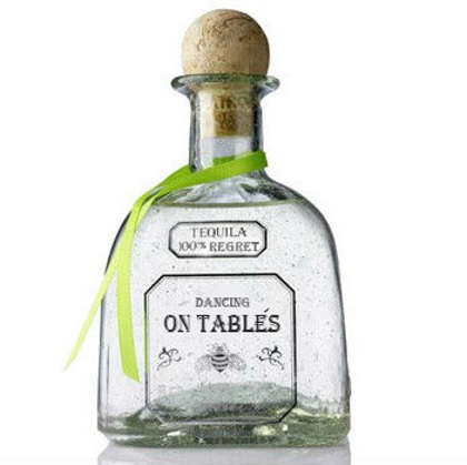 If alcohol labels told the truth Patron
