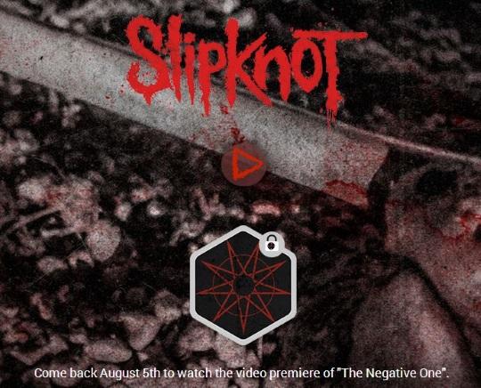Slipknot The Negative One