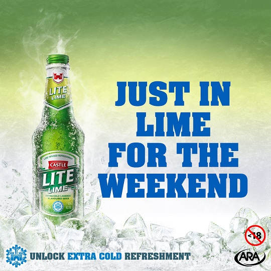 Castle Lite Just In Lime For The Weekend