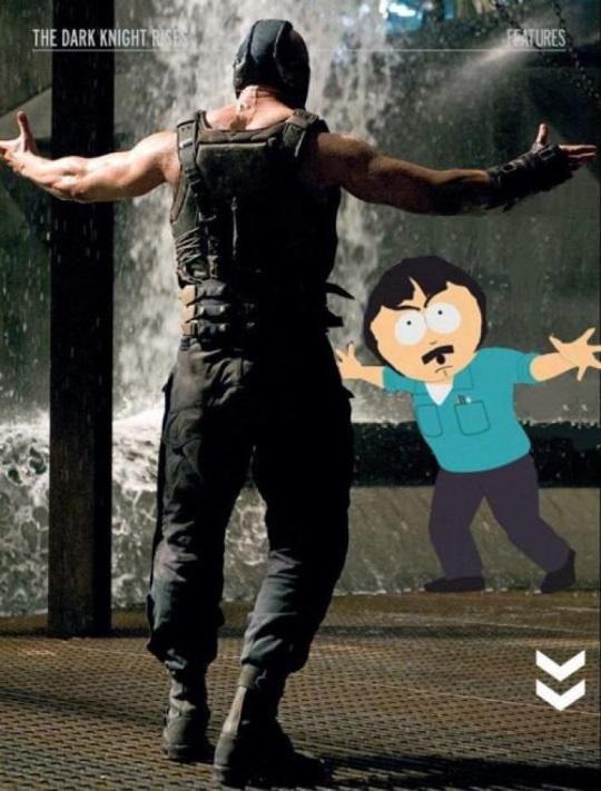 Randy and Bane Come at me bro