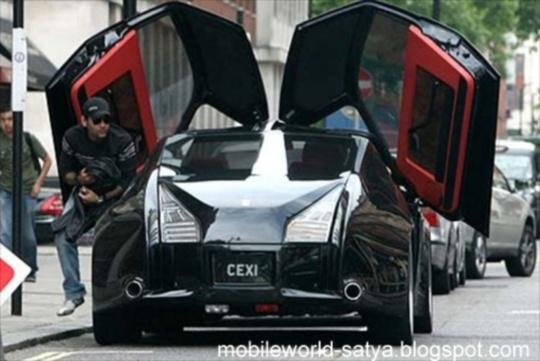 Porsche-Rolls rear