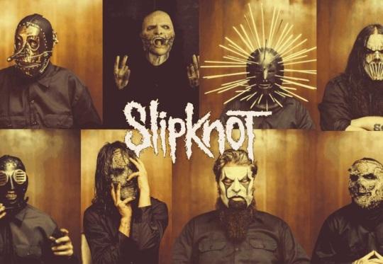 Slipknot 5 The Gray Chapter full band masks