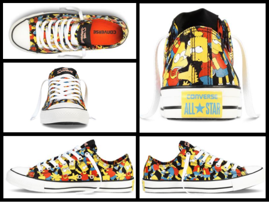 The Simpsons Converse All Stars