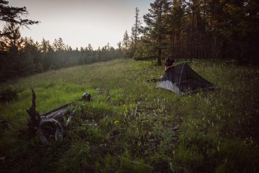 British Columbia, Canada camping spot