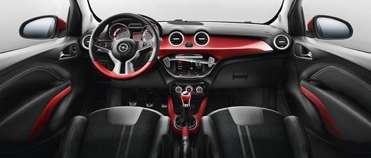 Opel Adam Twisted Interior