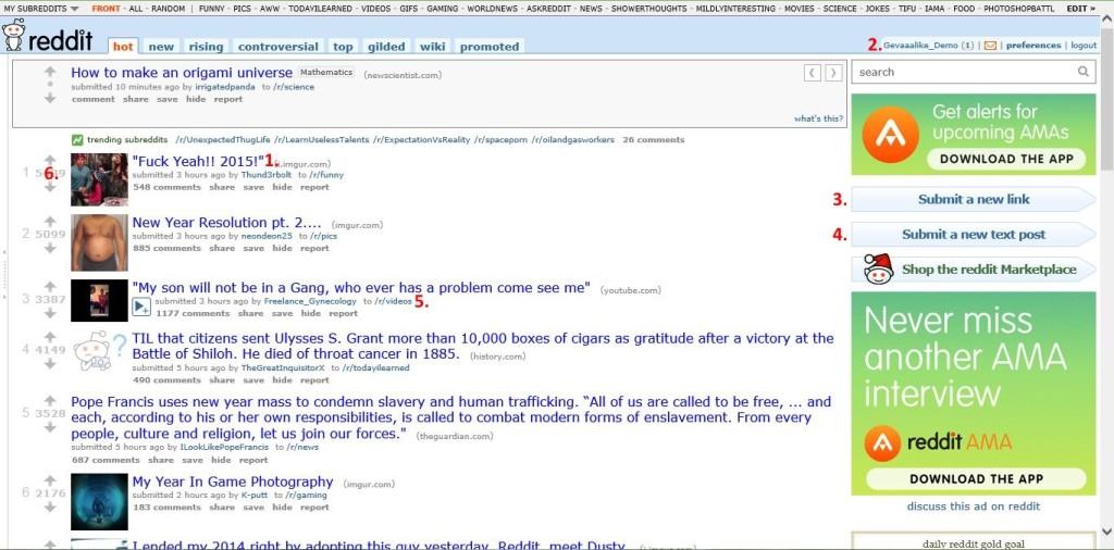 Reddit Front