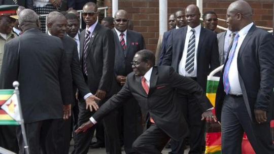 Mugabe Falls becomes #MugabeFalls