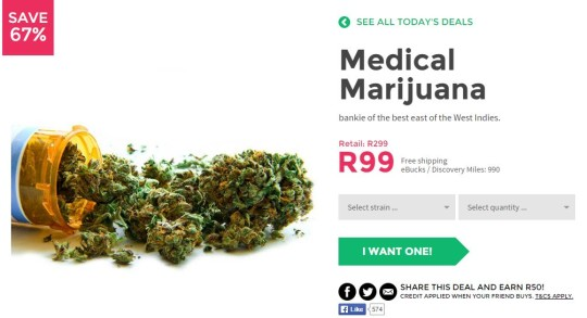 Medical Marijuana One Day Only April Fools for Charity