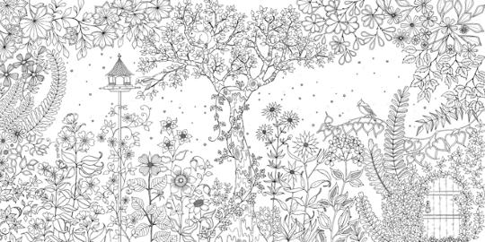 Secret Garden Inkleurboek