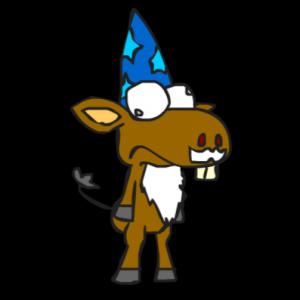 Wizard Donkey
