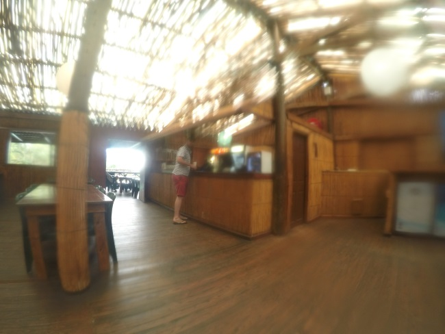 Coral Divers bar area