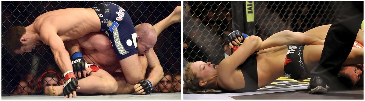 Ronda Rousey vs Luke Rockhold