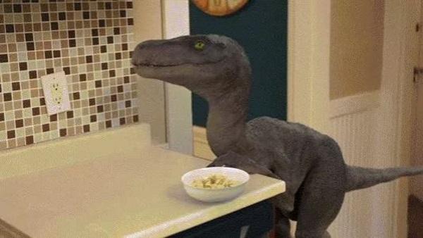 Breakfast with a Dinosaur