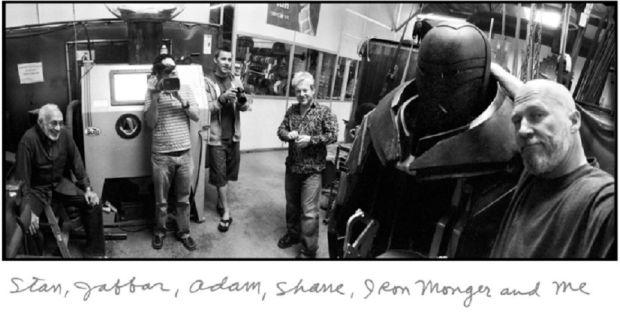 Iron Man 2008 - Jeff Bridges Photography