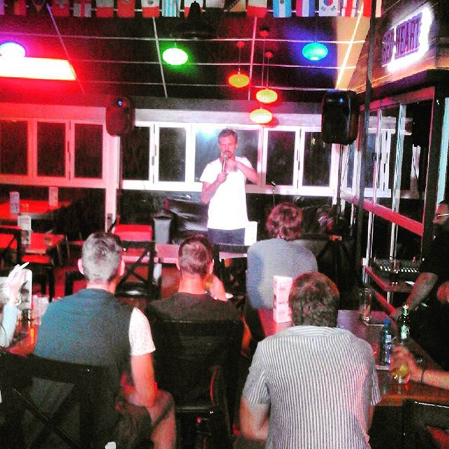Dusty Rich - Trademarx Comedy Nights Pretoria - Photo by Henno Kruger