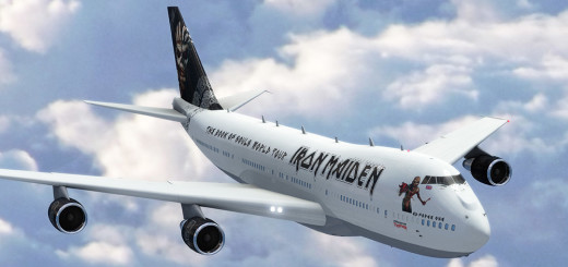 Iron Maiden South Africa Ed Force One