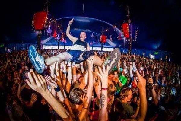 Jack Parow Zwarte Cross Festival in Holland 2015. Foto deur Robin Looy